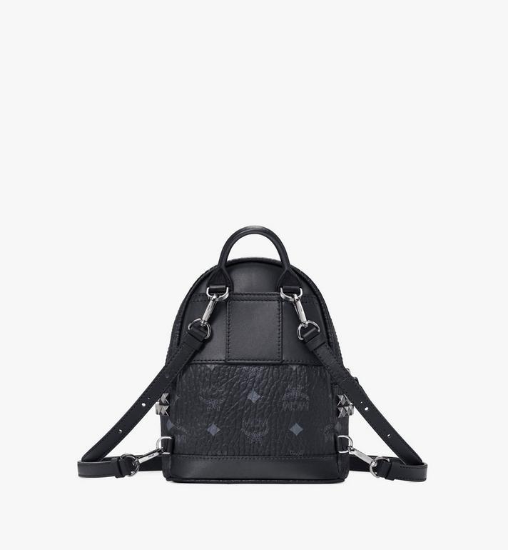 MCM Stark Side Studs Bebe Boo Backpack in Visetos AlternateView4