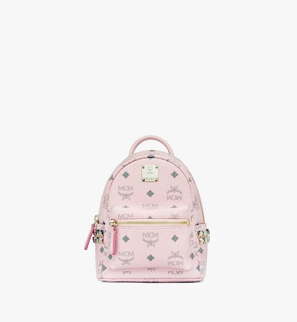 Stark Bebe Boo Side Studs Backpack in Visetos 1