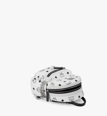 MCM Stark Side Studs Bebe Boo Backpack in Visetos MMK6SVE92WT001 AlternateView3