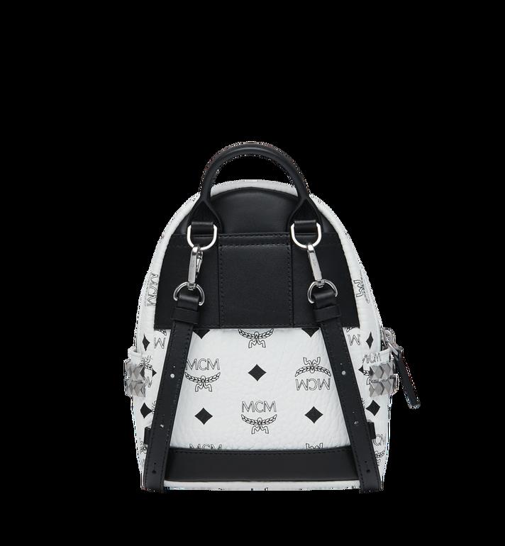 MCM Stark Side Studs Bebe Boo Backpack in Visetos Alternate View 5