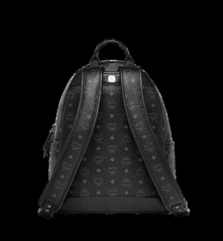 MCM Stark Logo Stripe Backpack in Visetos MMK7AVE27BK001 AlternateView4