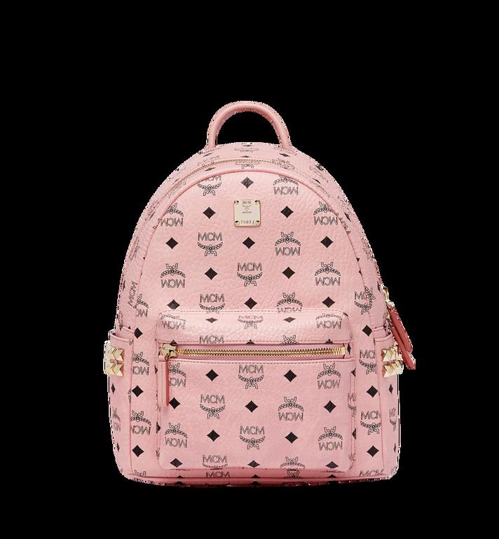 MCM Stark Side Studs Backpack in Visetos MMK7AVE37PZ001 AlternateView