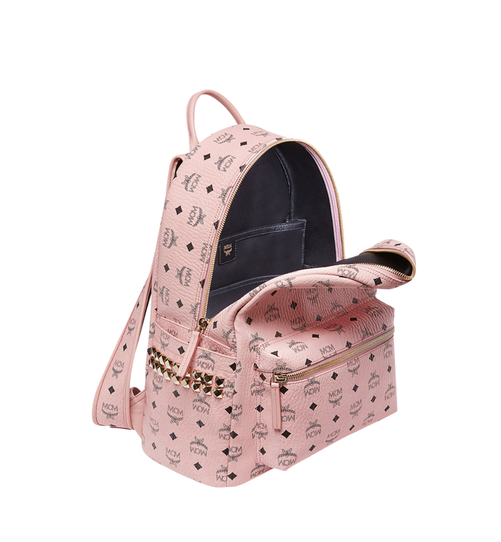 MCM Stark Side Studs Backpack in Visetos AlternateView5