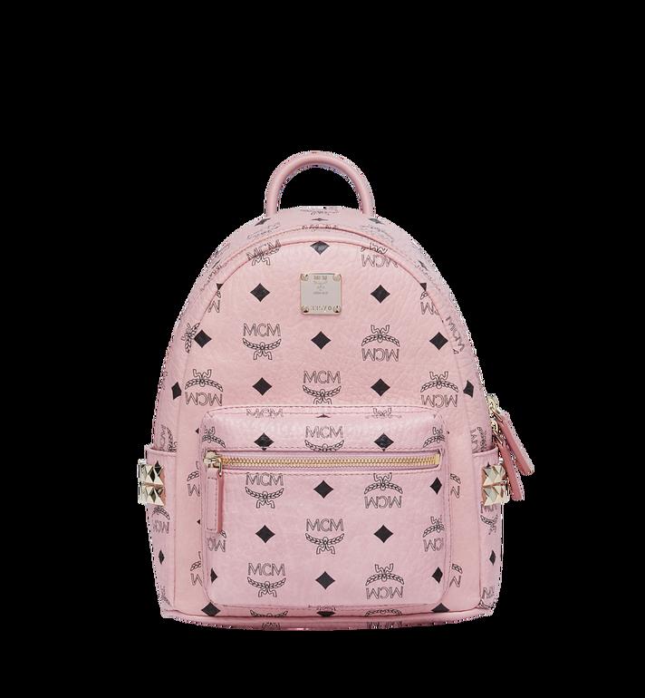 MCM Stark Side Studs Backpack in Visetos MMK7AVE41PZ001 AlternateView