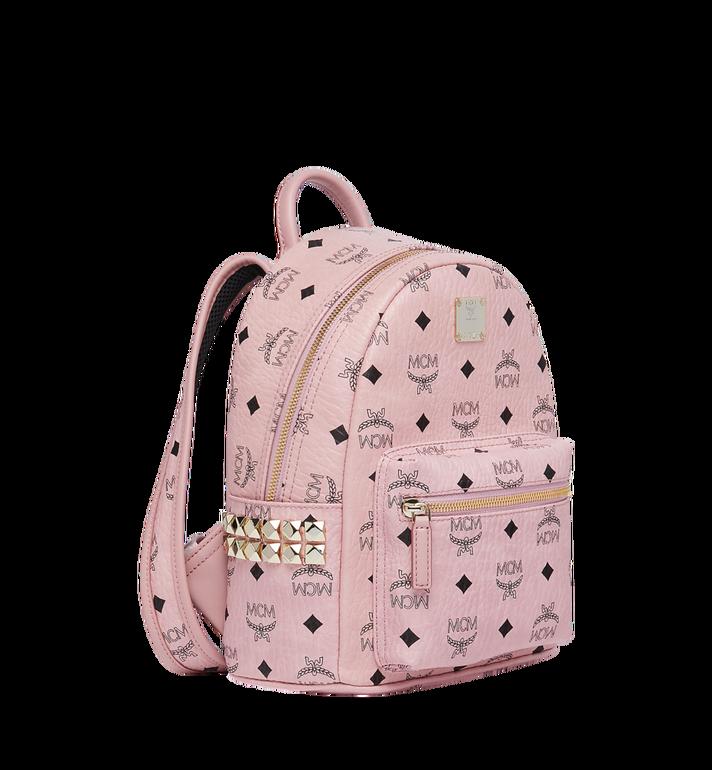 MCM Stark Side Studs Backpack in Visetos MMK7AVE41PZ001 AlternateView2