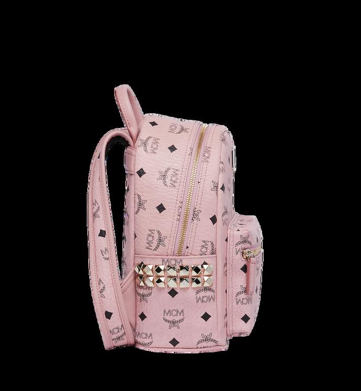 MCM Stark Side Studs Backpack in Visetos MMK7AVE41PZ001 AlternateView3
