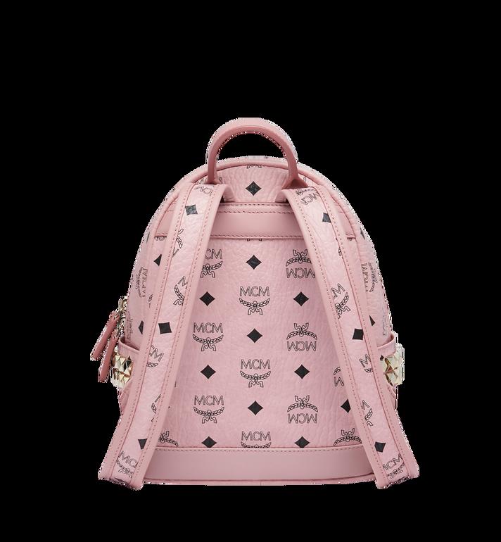 MCM Stark Side Studs Backpack in Visetos MMK7AVE41PZ001 AlternateView4