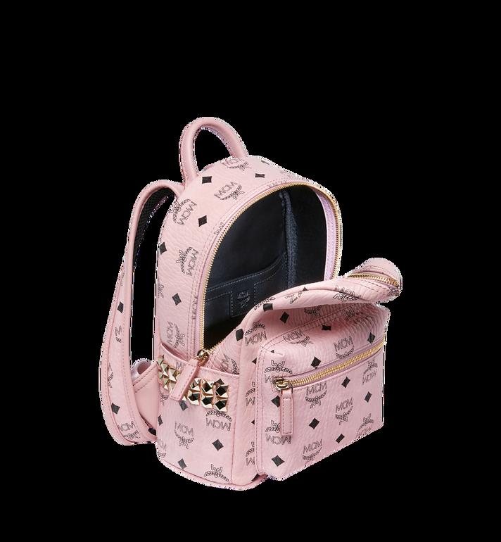 MCM Stark Side Studs Backpack in Visetos MMK7AVE41PZ001 AlternateView5