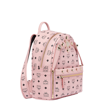 MCM Dual Stark Backpack in Visetos MMK7AVE80PZ001 AlternateView2