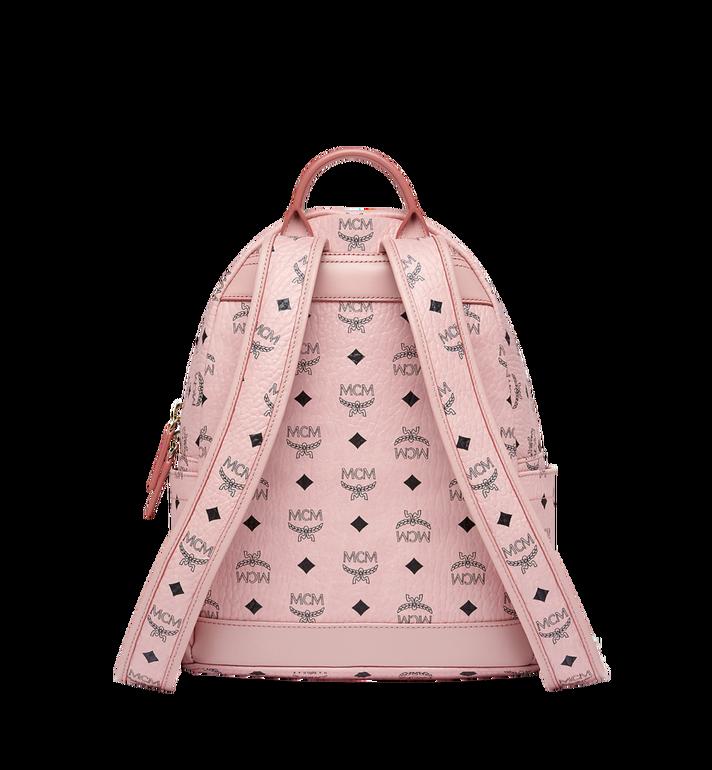 MCM Dual Stark Backpack in Visetos Alternate View 4