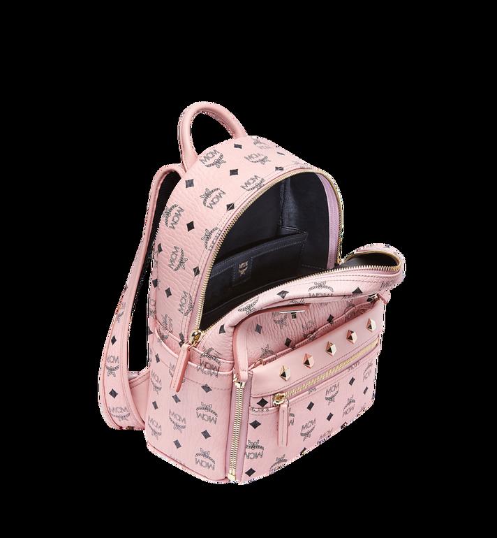 MCM Dual Stark Backpack in Visetos Alternate View 7