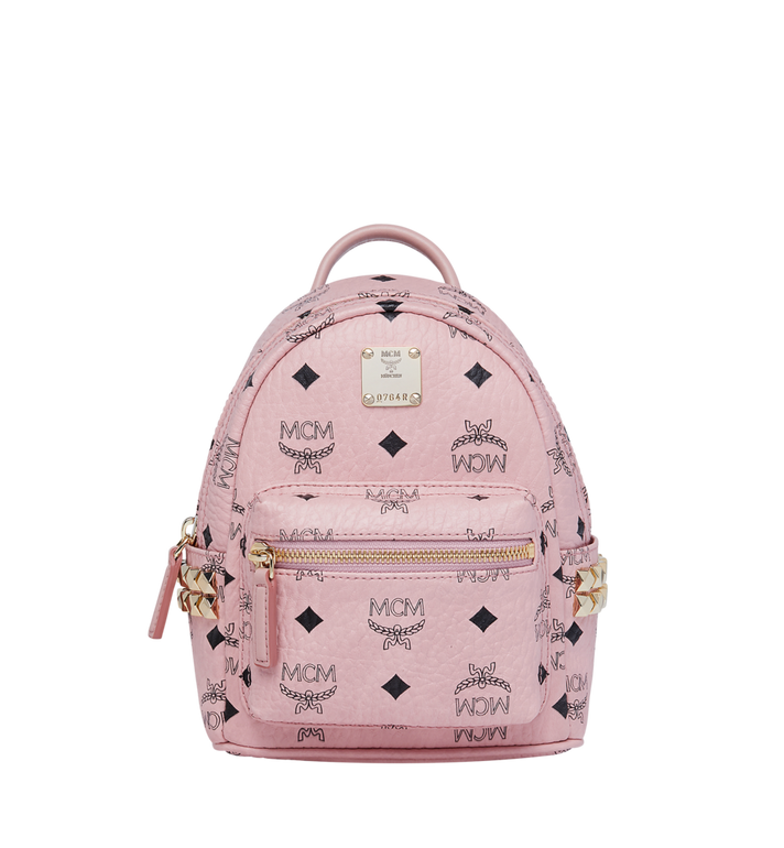 08ff8c82bff1 20 cm / 8 in Stark Side Studs Bebe Boo Backpack in Visetos Soft Pink ...