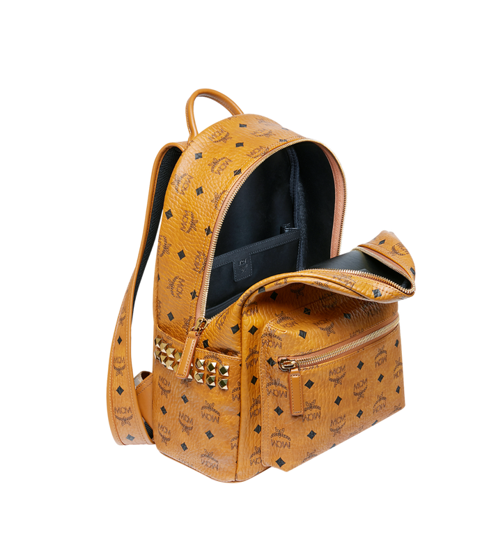 MCM Stark Side Studs Backpack in Visetos MMK7AVE99CO001 AlternateView5
