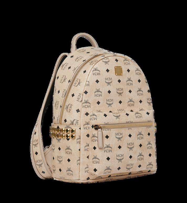 MCM Stark Side Studs Backpack in Visetos MMK7AVE99IG001 AlternateView2