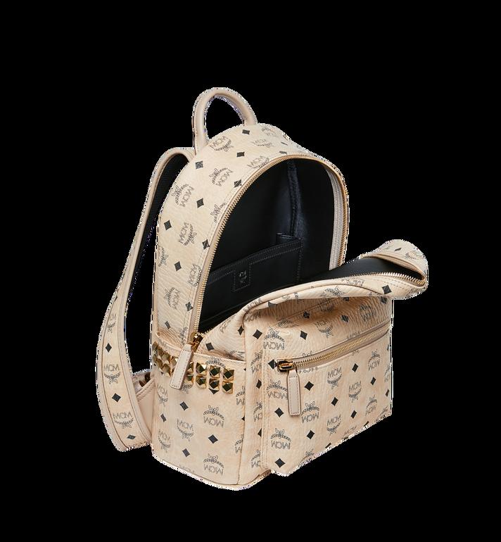 MCM Stark Side Studs Backpack in Visetos MMK7AVE99IG001 AlternateView5