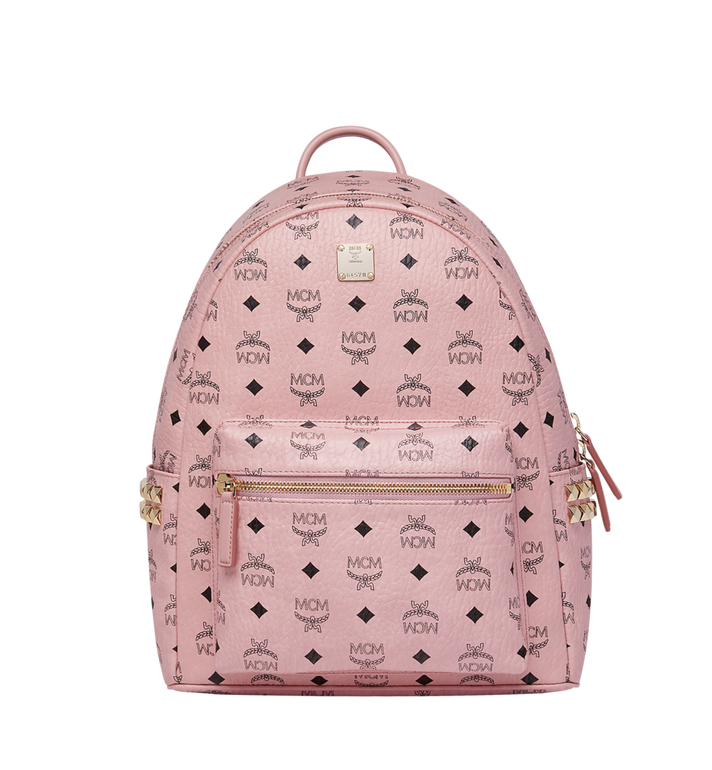 MCM Stark Side Studs Backpack in Visetos MMK7AVE99PZ001 AlternateView