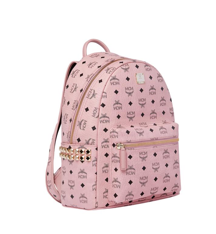 MCM Stark Side Studs Backpack in Visetos MMK7AVE99PZ001 AlternateView2