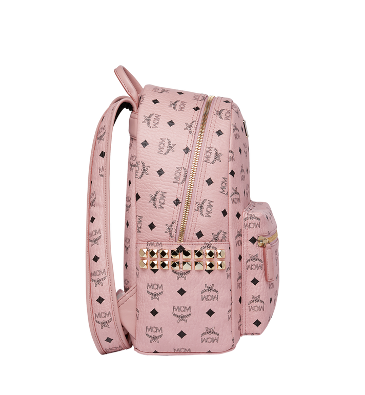 MCM Stark Side Studs Backpack in Visetos MMK7AVE99PZ001 AlternateView3