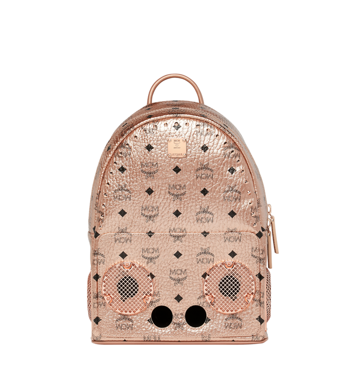 MCM MCM x WizPak Backpack in Visetos MMK8AOC84TC001 AlternateView