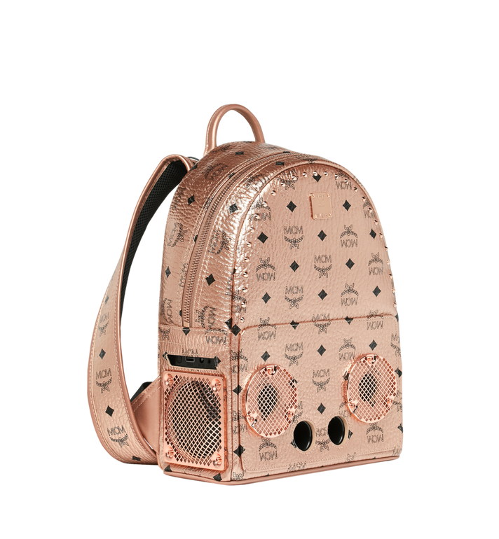 MCM MCM x WizPak Backpack in Visetos MMK8AOC84TC001 AlternateView2