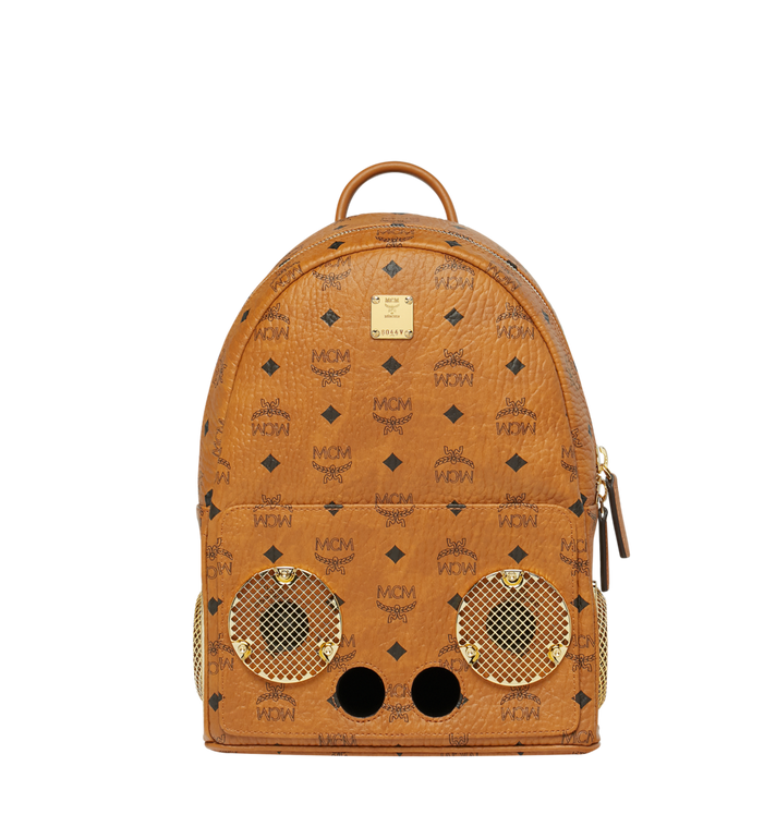 MCM MCM x WizPak Backpack in Visetos MMK8AOC85CO001 AlternateView