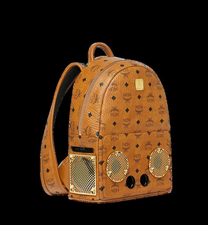 MCM MCM x WizPak Backpack in Visetos Cognac MMK8AOC85CO001 Alternate View 2