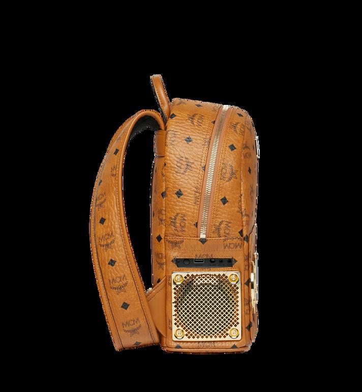 MCM MCM x WizPak Backpack in Visetos Cognac MMK8AOC85CO001 Alternate View 3