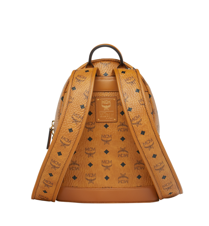 MCM MCM x WizPak Backpack in Visetos Cognac MMK8AOC85CO001 Alternate View 4