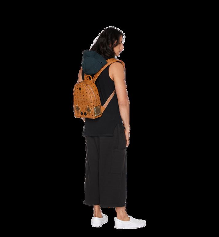 MCM MCM x WizPak Backpack in Visetos MMK8AOC85CO001 AlternateView6