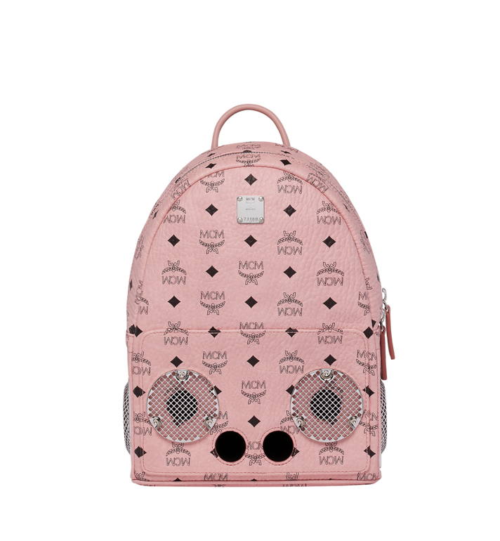 MCM MCM x WizPak Backpack in Visetos MMK8AOC85PZ001 AlternateView