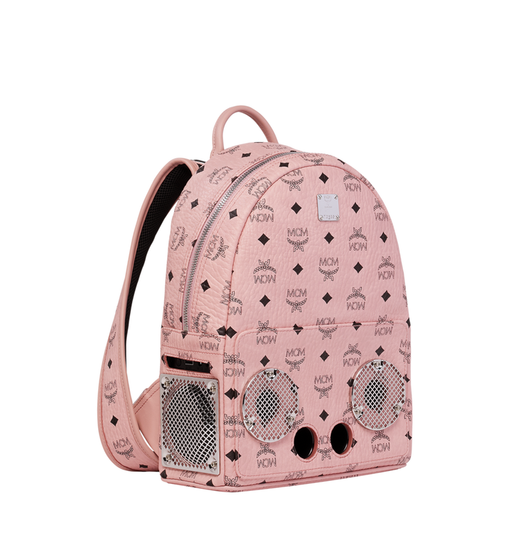 MCM MCM x WizPak Backpack in Visetos MMK8AOC85PZ001 AlternateView2
