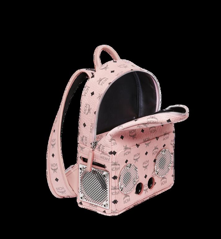 MCM MCM x WizPak Backpack in Visetos MMK8AOC85PZ001 AlternateView5