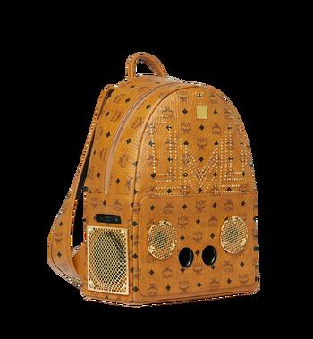 MCM MCM x WizPak Studded Backpack in Visetos Alternate View 2