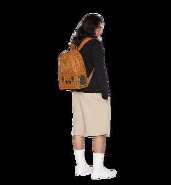 MCM MCM x WizPak Studded Backpack in Visetos Alternate View 6