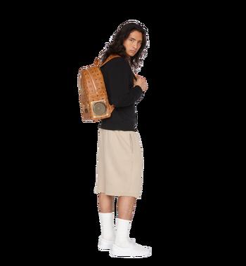 MCM MCM x WizPak Studded Backpack in Visetos Alternate View 7
