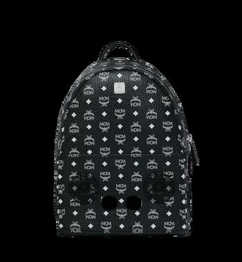 MCM MCM x WizPak Backpack in White Logo Visetos MMK8AOC87BV001 AlternateView