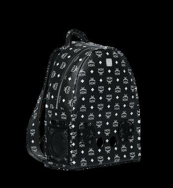 MCM MCM x WizPak Backpack in White Logo Visetos MMK8AOC87BV001 AlternateView2