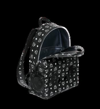 MCM MCM x WizPak Backpack in White Logo Visetos MMK8AOC87BV001 AlternateView5