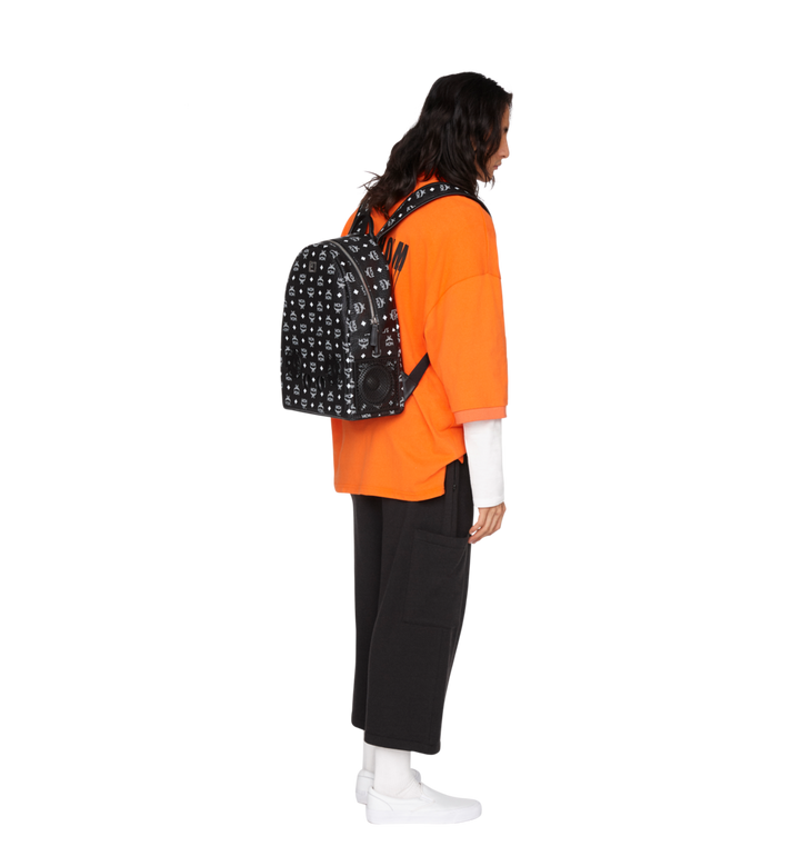 MCM MCM x WizPak Backpack in White Logo Visetos Alternate View 6