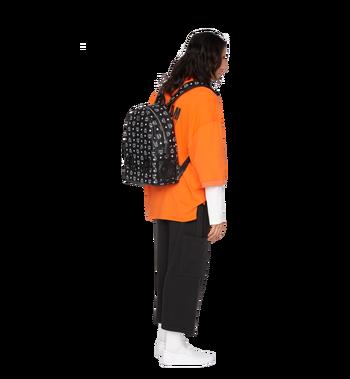 MCM MCM x WizPak Backpack in White Logo Visetos MMK8AOC87BV001 AlternateView6
