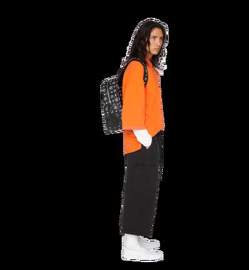 MCM MCM x WizPak Backpack in White Logo Visetos MMK8AOC87BV001 AlternateView7
