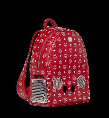 MCM MCM x WizPak Backpack in White Logo Visetos Alternate View 2