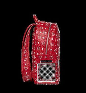 MCM MCM x WizPak Backpack in White Logo Visetos Alternate View 3