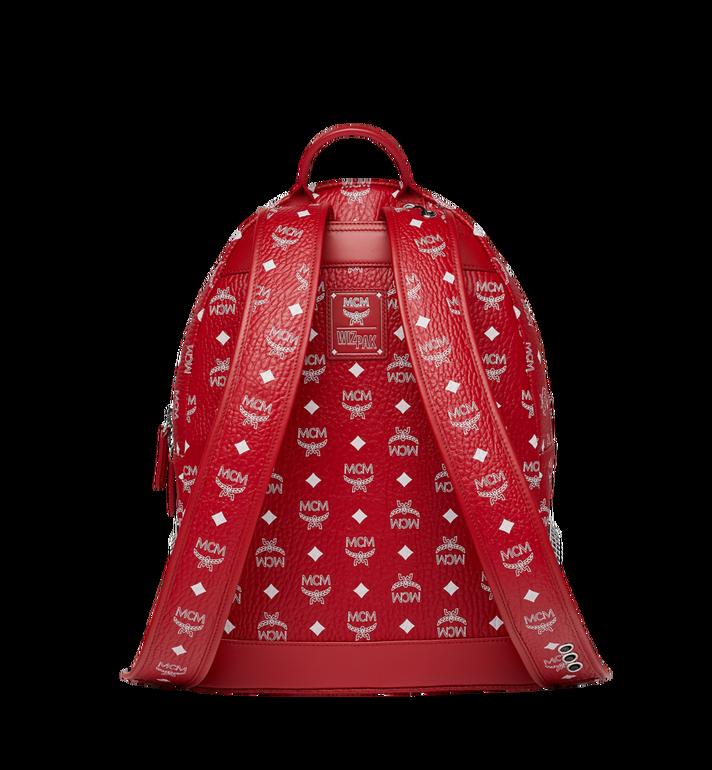 MCM MCM x WizPak Backpack in White Logo Visetos Red MMK8AOC87RV001 Alternate View 4