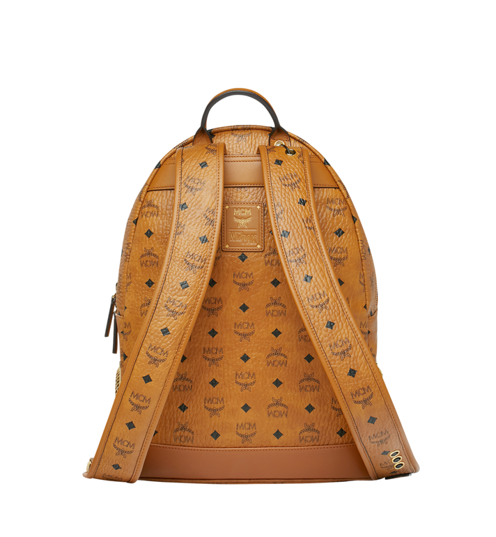 MCM MCM x WizPak Backpack in Visetos Cognac MMK8AOC88CO001 Alternate View 4