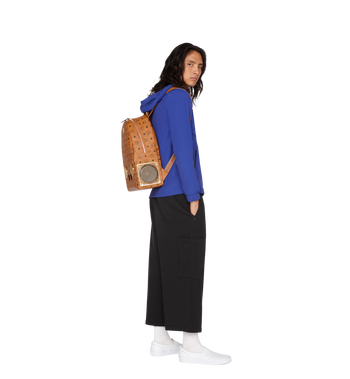 MCM MCM x WizPak Backpack in Visetos Alternate View 7