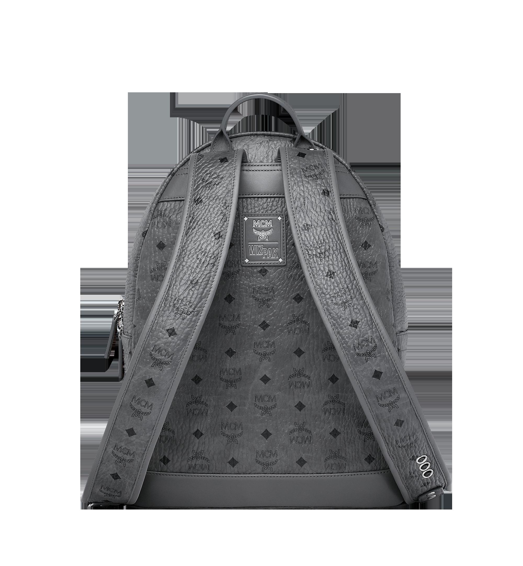 MCM MCM x WizPak Backpack in Visetos Grey MMK8AOC88EP001 Alternate View 4