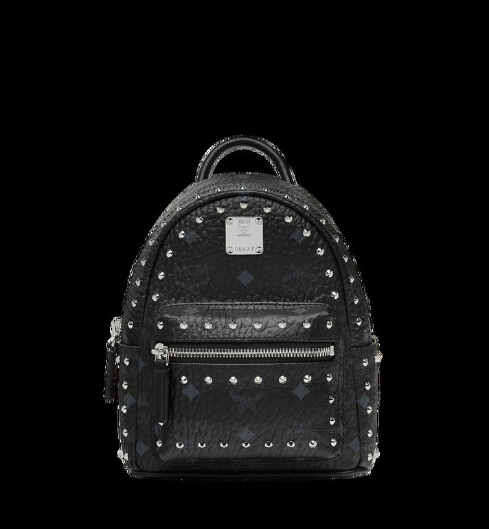 MCM Stark Bebe Boo Backpack in Studded Outline Visetos Alternate View