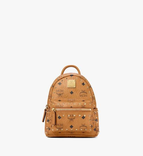 Stark Bebe Boo Backpack in Studded Outline Visetos