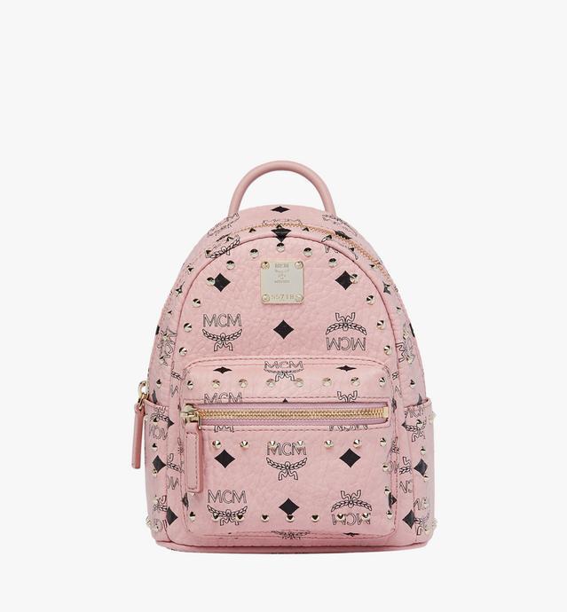 Stark Bebe Boo Backpack in Studded Outline Visetos